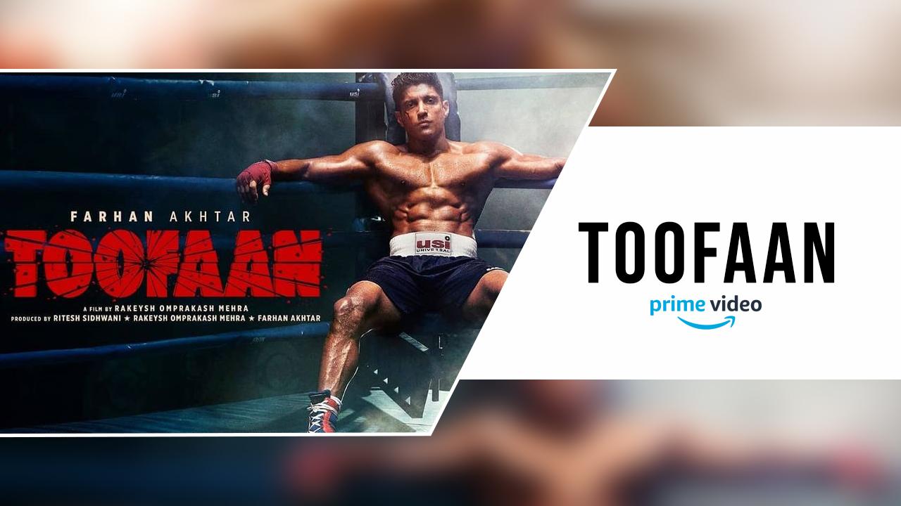 Toofaan Movie On Amazon Prime Video - Farhan Akhtar Movie - cover