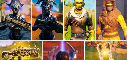 Fortnite Mythic Weapons