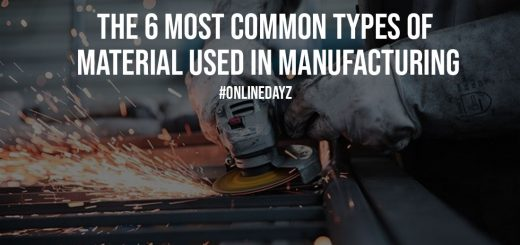 The 6 Most Common Types Of Material Used In Manufacturing